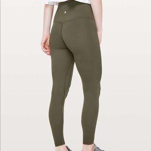 lululemon athletica Pants - Lululemon Olive Aligns